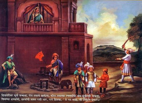 Heroji Indulkar and Shivaji Maharaj