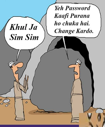 Your Password is important-Khulja Sim Sim