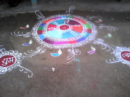 Indian Rangoli-Heritage of India