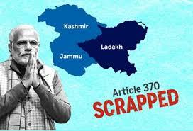 JAMMU AND KASHMIR ARTICLE 370 HAS BEEN REVOKED