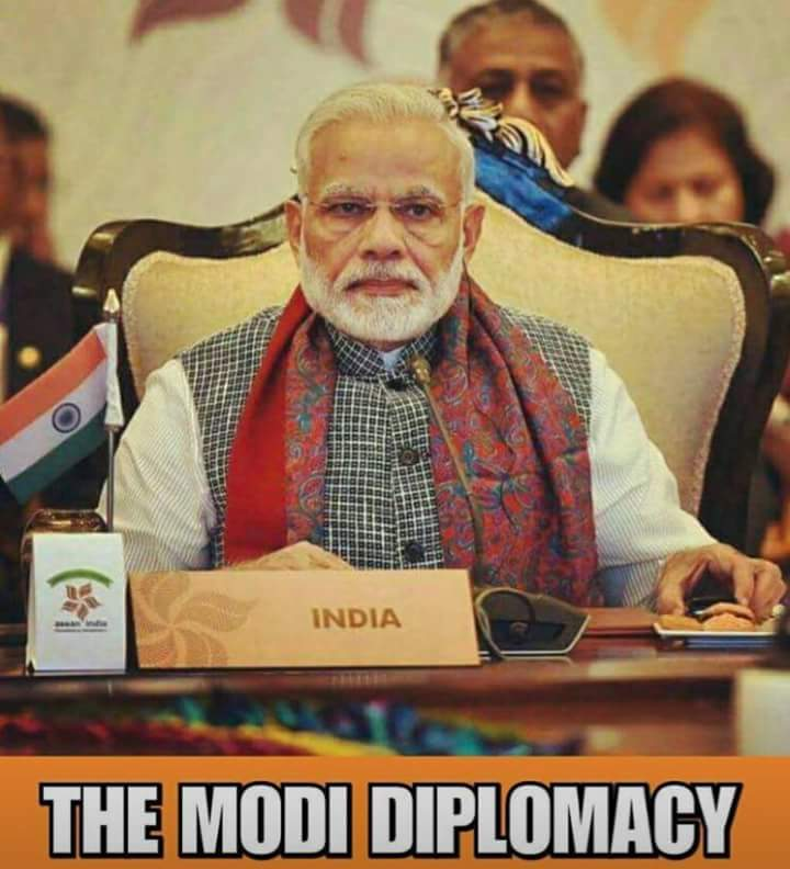 The Narendra Modi Diplomacy