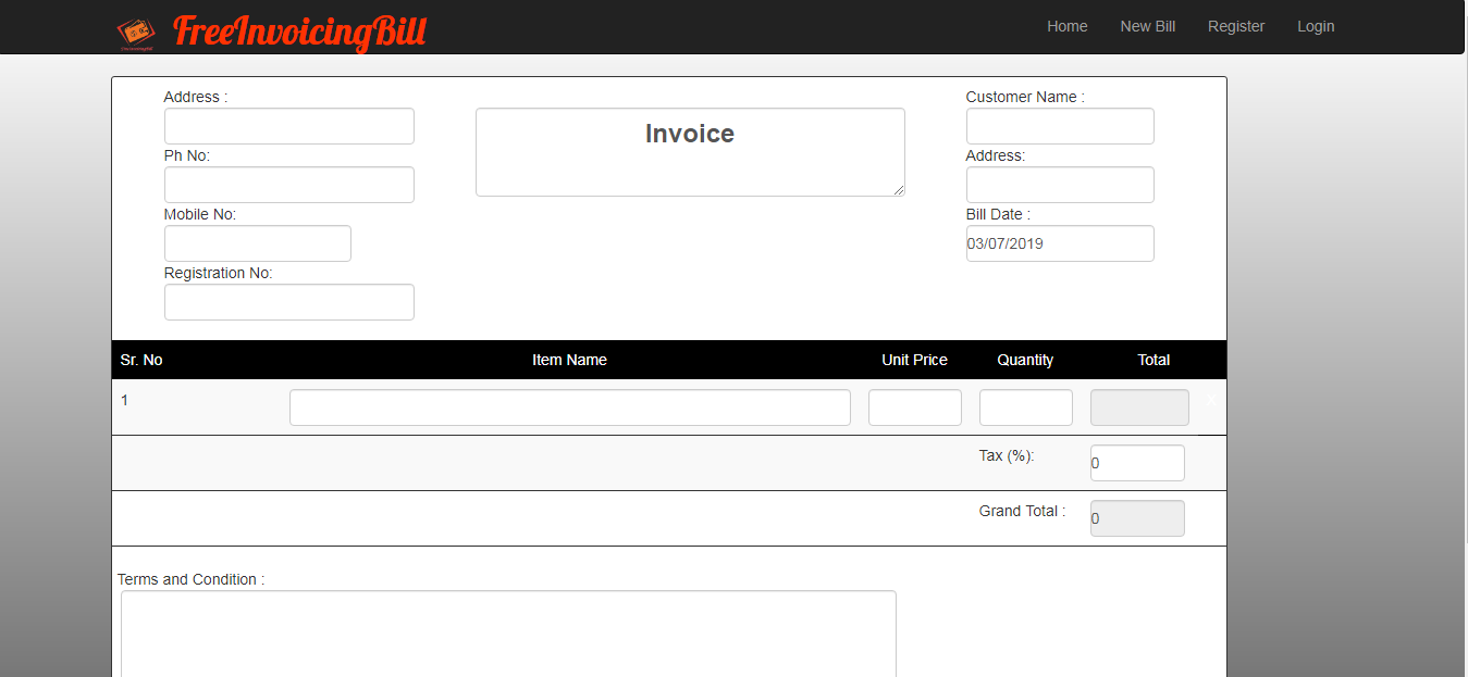 Free Invoicing and Billing Software full version