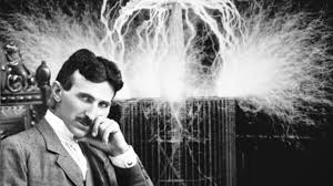 Nikola Tesla the electric man