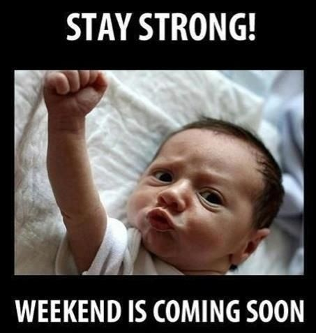 Stay Strong Friday is coming