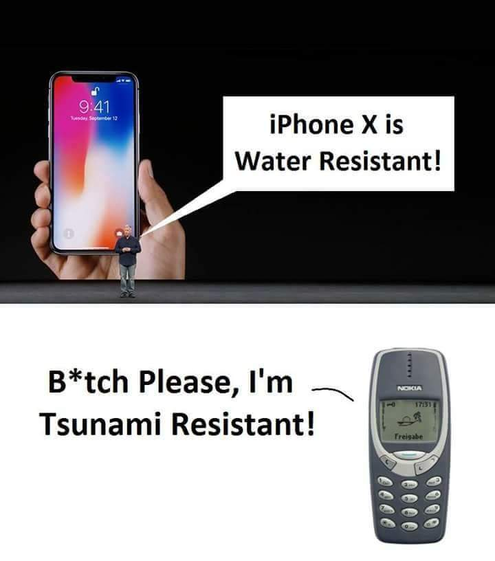 Iphone X competitor