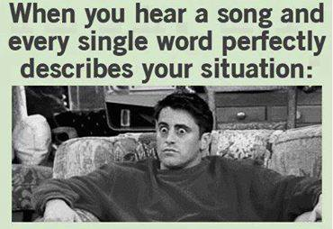 When you listen to song