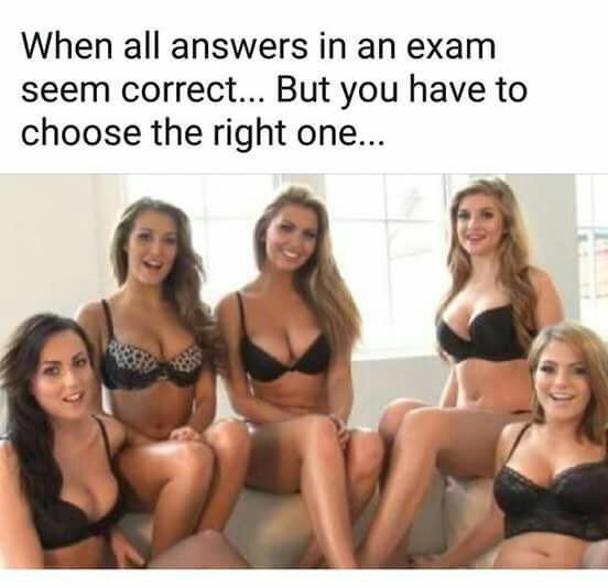When all answer seems to be correct